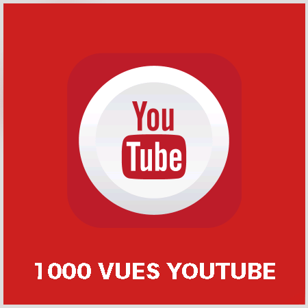 article 1000 vues youtube