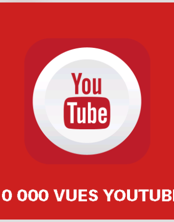 article 10000 vues youtube