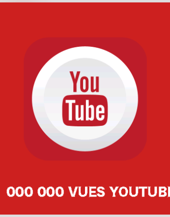 article 1000000 vues youtube