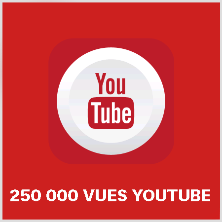 article 250000 vues youtube