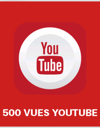 article 500 vues youtube