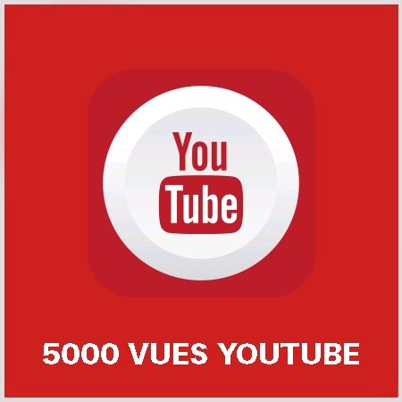 article 5000 vues youtube