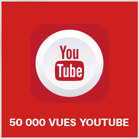 article 50000 vues youtube