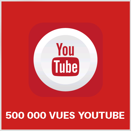 article 500000 vues youtube