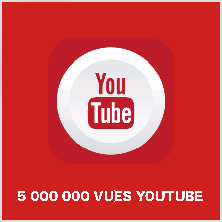 article 5000000 vues youtube